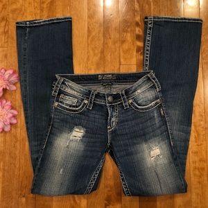 Silver jeans pioneer bootleg